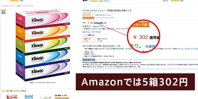 クリネックス Amazon